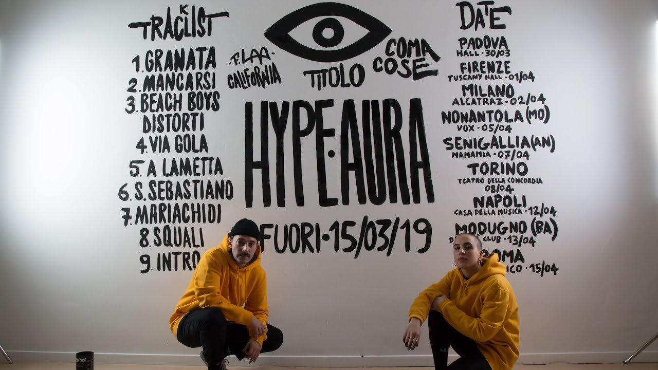 Coma Cose, HYPE AURA: tracklist e tour | Radio Deejay
