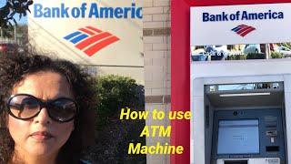 HOW TO USE ATM MACHINE AT THE BANK ||  WITHDRAW AND DEPOSIT MONE|| |BANK MACHINE | NAUSHEEN MAJLISH