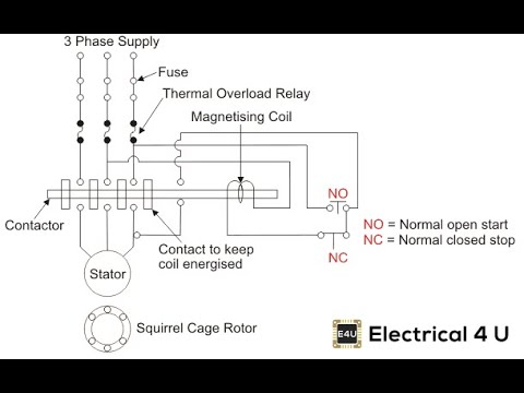 Starters control circuit of DOL 2nd Year ITI Electrician ...