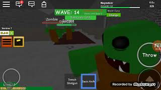 Zombie attack My GamePlay-