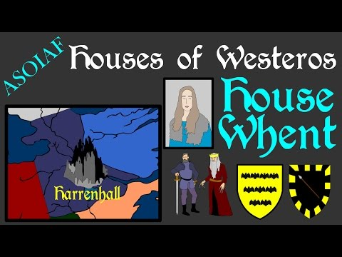ASOIAF: Houses Of Westeros - House Whent