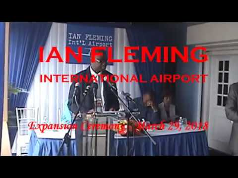 IAN FLEMING INT'L AIRPORT - Groundbreaking Ceremony 2018
