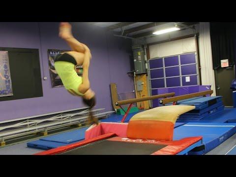 Gymnastics Relay Race Challenge!