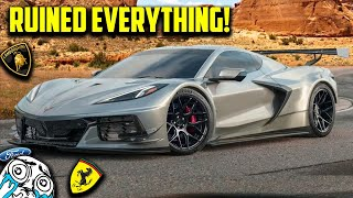 homepage tile video photo for The 2023 C8 Corvette Z06 Will RUIN Everything