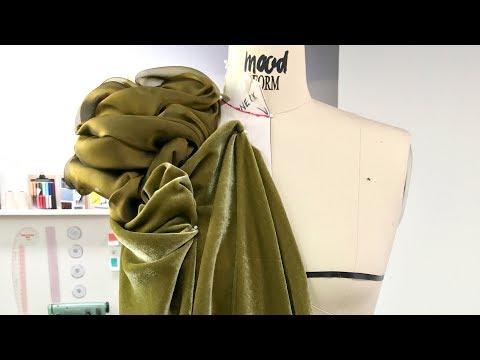 Fashion Draping with Benjamin Mach of Mood Fabrics