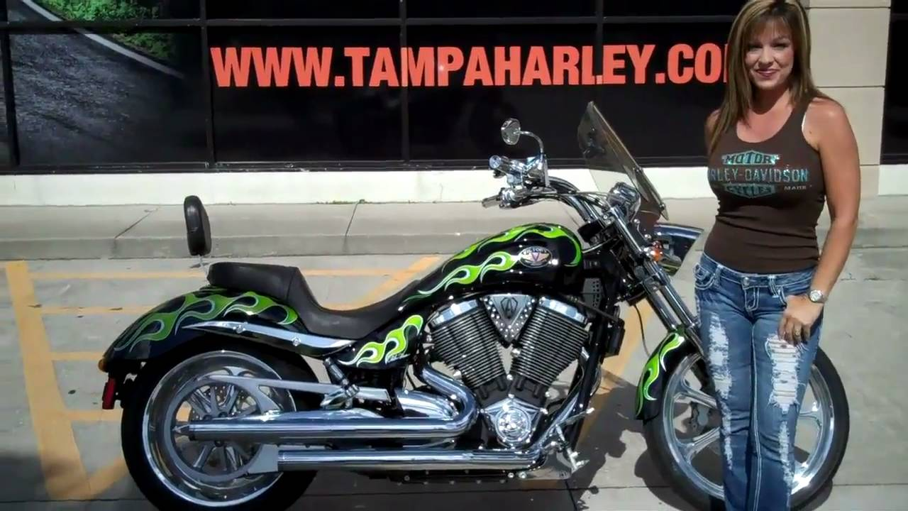 2007 Victory Vegas Jackpot Ness Signature Series For Sale In Tampa