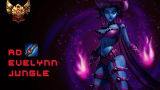 S6 - Jungle AD Offtank Evelynn Patch 6.4