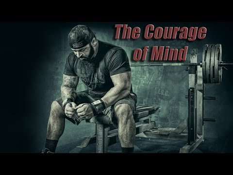 The Courage of Mind - Powerlifting Motivation (MuscleFactory DARK) - Пауэрлифтинг
