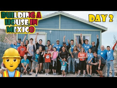 Building a House in Mexico 👷 Day 2 (WK 336.5) | Bratayley