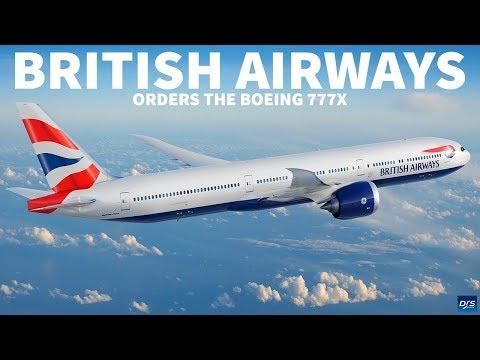 British Airways Orders 777X