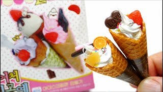 Miniature Ice Cream Cone Waffle Diy How to make Donerland Cone Waffle