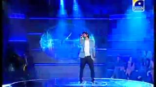 Waqar Ahsin Sing very good and difficult song in Pakistan Idol