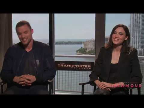 Ed Skrein & Loan Chabanol Interview - THE TRANSPORTER REFUELED - This Is Infamous