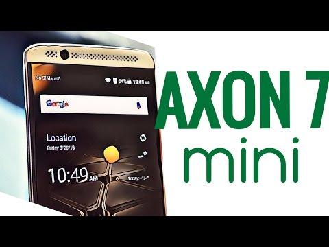 ЗТЕ Аксон 7 мини обзор - 5,2 дюйма и мощные динамики | Zte Axon 7 mini