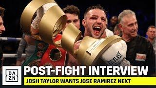 Josh Taylor Has A Message For Jose Ramirez