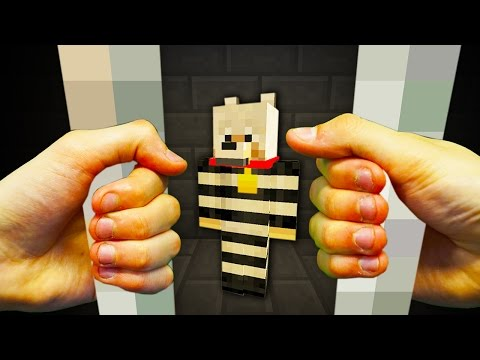 REALISTIC MINECRAFT - STEVE'S DOG GETS ARRESTED!🐶🔫
