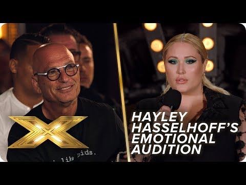 Hayley Hasselhoff emotionally performs Lewis Capaldi's 'Someone You Loved' | X Factor: Celebrity