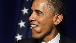 Барак Обама на съемках фильма Пила 7