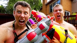 Blasters for NERF GUN GAME | Super Soaker Edition 2.0!