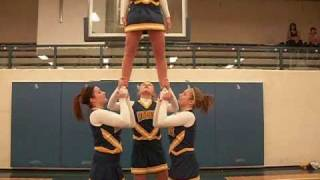 Cheerleading 101 - Intermediate/Advanced Stunting Video