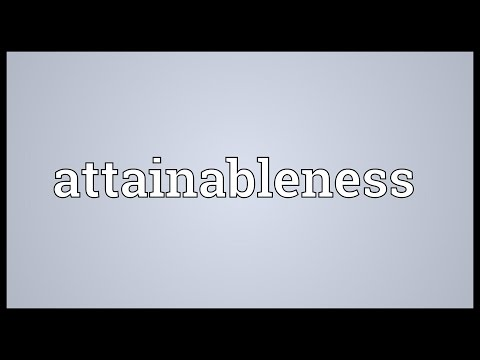 Header of attainableness