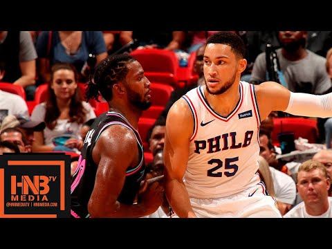 Miami Heat vs Philadelphia Sixers Full Game Highlights | 11.12.2018, NBA Season