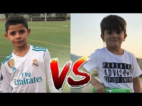 Lionel Messi'nin Oğlu Vs Ronaldo'nun Oğlu -  Hangisi Daha İyi?