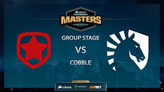 Liquid vs Gambit - Cobble - Group Stage - Dreamhack Marseille 2018