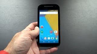 Motorola Мото е XT1527 (2-го покоління з LTE мережі 4G) Розпакування і перші враження!