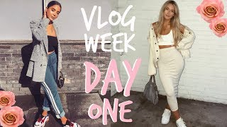 VLOG WEEK! | GYM BUDDIES + OVERSPENDING lol | Sophia and Cinzia