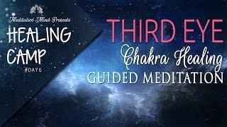 Third Eye Chakra Healing Guided Meditation | Healing Camp 2016 | Day #6