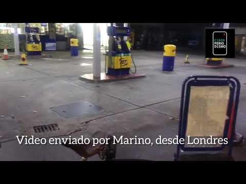 ?️ LONDRES AHORA! Así están las estaciones de servicio ⛽?????????