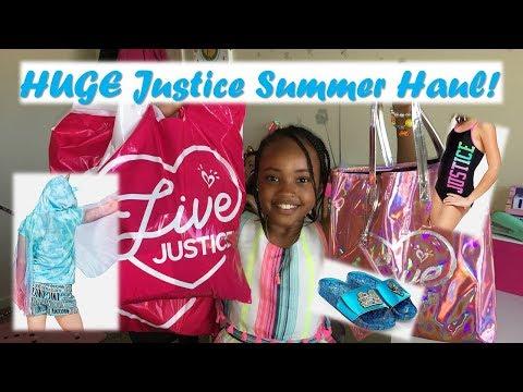 Justice Haul   Summer Vacation
