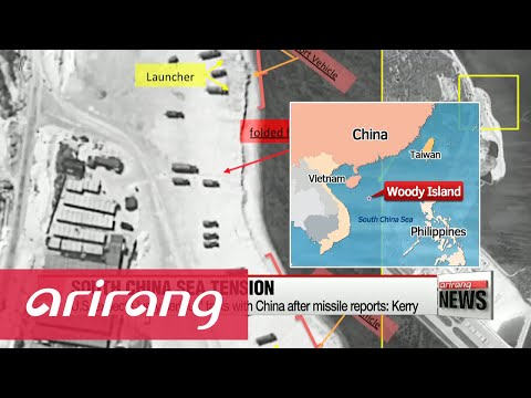 U.S., Japan concerned over South China Sea missile reports