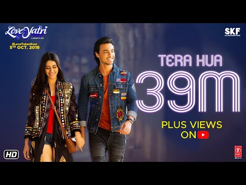 Atif Aslam: Tera Hua Video | Loveyatri | Aayush Sharma | Warina Hussain | Tanishk Bagchi Manoj M Mp3