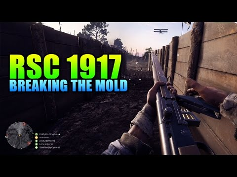 RSC 1917 - Totally Different Medic Rifle! | Battlefield 1 DLC
