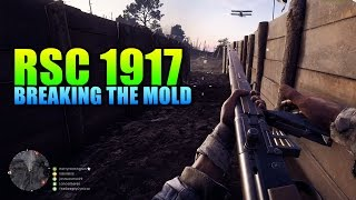 RSC 1917   Totally Different Medic Rifle  Battlefield 1 DLC