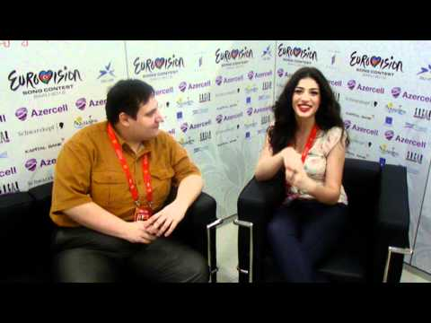 ESCKAZ live in Baku: Ivi Adamou (Cyprus) interview