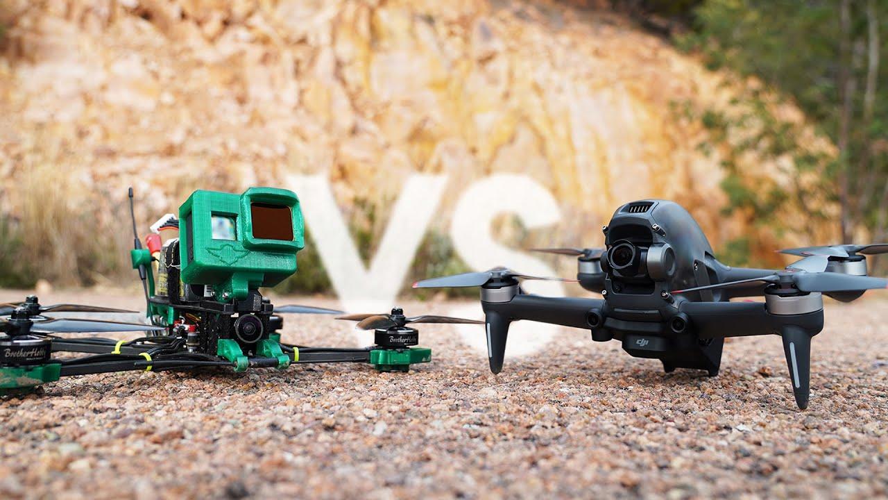 Download Comparatif DJI FPV vs un VRAI drone FPV ! 💥 (le choix est vite fait)