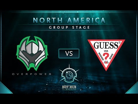 Overpower vs Guess - TI7 NA Regional Qualifier