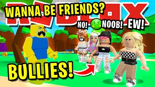 NOOB DISGUISE TROLLING WITH SECRET!! *MEANEST* BULLY GOLDDIGGERS EVER!! ROBLOX BUBBLEGUM SIMULATOR!!