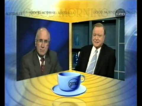 Bert Newton interviews John Howard (2001)