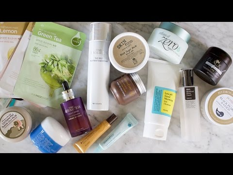 10-Step Korean Skincare | Innisfree, Nature Republic, COSRX, Missha + more!