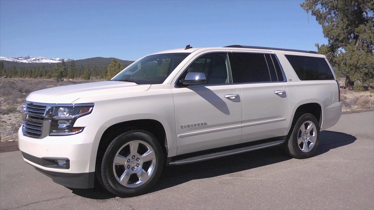 2015 Chevrolet Suburban - YouTube