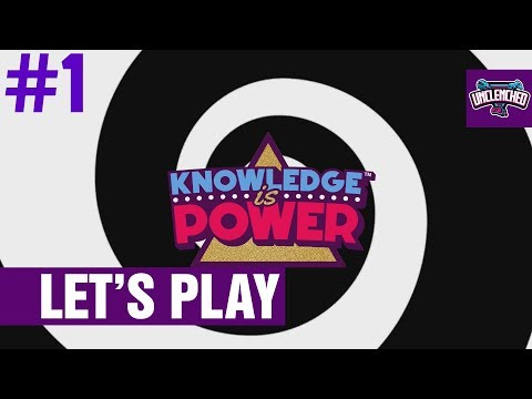 Knowledge is Power #1 - The Trivia Game of the Future!