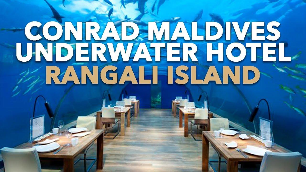 Amazing Conrad Maldives Rangali Islands Resort Underwater Hotel