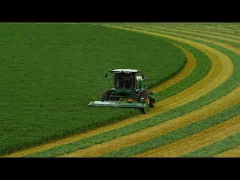 Farmers reap benefits of driverless tractor tech