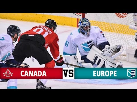 Canada vs Europe - World Cup of Hockey 2016 - All Goals (21/9/16)