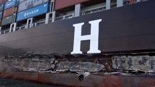 Cargo Ship Accidents - Container Ship Accident Pictures