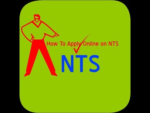 How to Apply NTS Jobs Online 2017